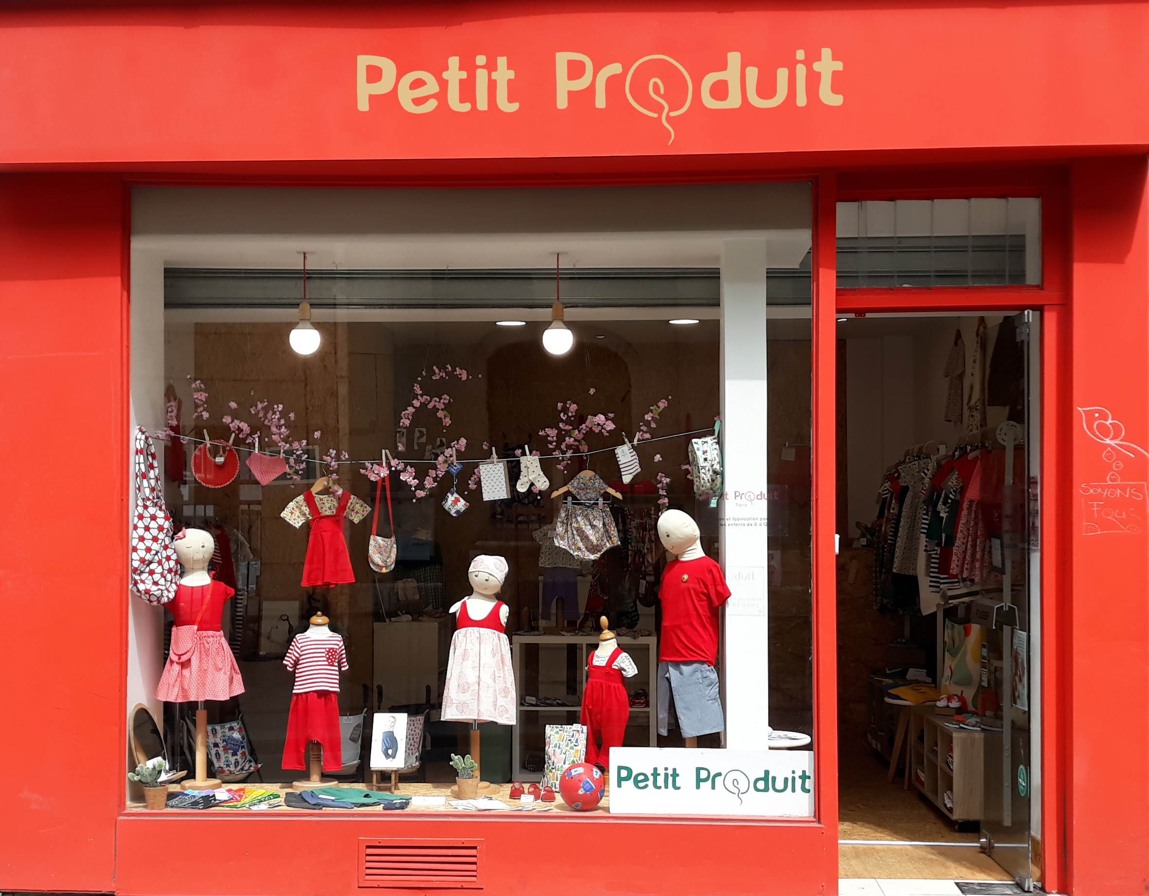 Vitrine Petit Produit